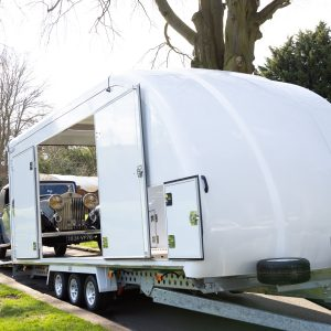 Woodford Galaxy Enclosed Car Trailer