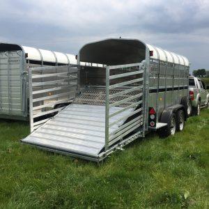 Nugent 14ft Livestock Trailer with Sheep decks