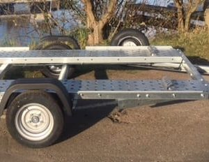 Woodford Car Trailers WBT-001 Smart Car Trailer