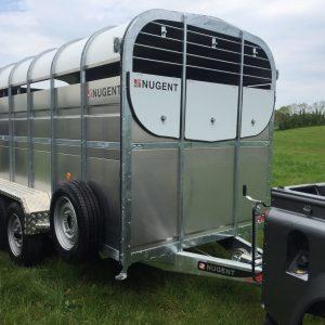 Nugent 14ft Livestock Trailer