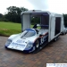 Galaxy with Rothmans car exiting